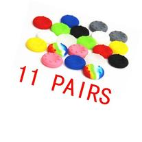 Donop® 11 Pairs X Thumbstick Joystick Rubber Grip Case for