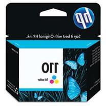 HP OEM 110  Color Inkjet Cartridge