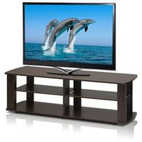 Furinno TV Stand - Up to 42 Screen Support - 60 lb Load