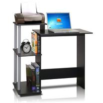 Furinno 11192BK/GY Computer Desk