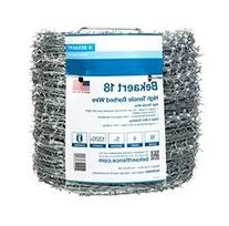 Bekaert 118230/177495 18 Gauge 4-Point Class 3 Barbed Wire