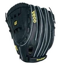 "Wilson A600 Leather Baseball Glove 12.5"" WTA0600125 Right-"