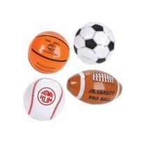 "12 Mini SPORTS BALL Beach BALL Inflates/8"" BASEBALL"