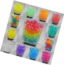 12 Pack Combo Sooper Beads Decoration Vase Filler - Water