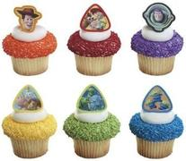 12 ct - Toy Story 3 Buzz Lightyear, Woody and Gang Cupcake