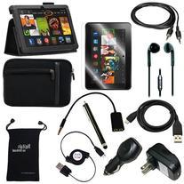 Fire HDX 8.9 Case - DigitalsOnDemand® 12-Item Accessory Kit
