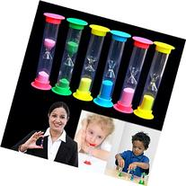 Dazzling Toys 12 Mini Hourglass Sandglass 3 Minute Sand