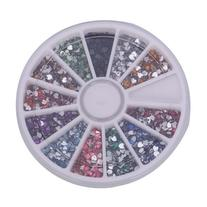 MBox 3000pcs 2mm 12 Color Nail Art Nailart Heart Shape