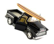 "12 pcs in Box: 5"" 1955 Chevy Stepside Pickup with Surfboard"
