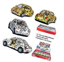 "12 pcs in Box: 5"" Volkswagen Beetle Safari Edition 1:32"
