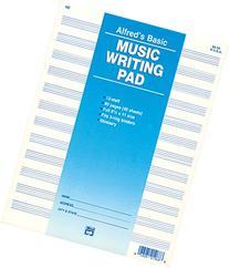 12 Staff Music Writing Pad