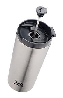 12 Oz Vacuum Insulated French Press Mug For Tea & Coffee  
