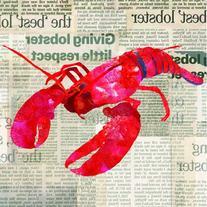 Paperproducts Design 1251257 Lobster Shack Paper Beverage/