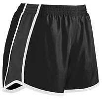 Augusta Sportswear Girls' PULSE TEAM SHORT L Black/Black/