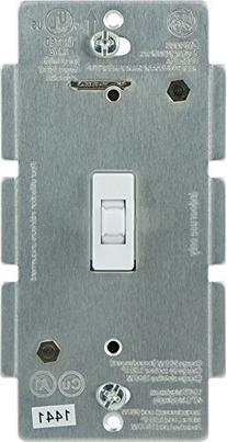 GE Z-Wave Wireless Lighting Control Smart Toggle Switch, In-