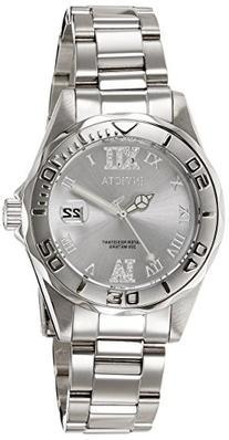 Invicta Women's 12851 Pro Diver Silver-Tone Watch with