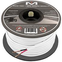 Mediabridge 12AWG 2-Conductor Speaker Wire  - 99.9% Oxygen