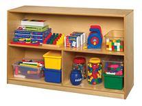 Childcraft 1335358 Storage Unit, Birch Veneer Panel, 4-Coat