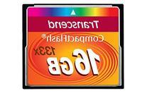 Transcend 16GB CompactFlash Memory Card 133x