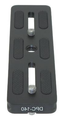 Desmond 5.5-Inch 140mm 140 QR Lens Plate Quick Release Arca