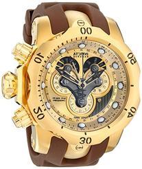 Invicta Men's 14464 Venom Quartz Chronograph Gold Dial