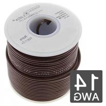 14AWG Automotive Primary Wire 250' - 19x27 Strand - Brown