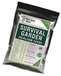 15,000 Non GMO Heirloom Vegetable Seeds Survival Garden 32