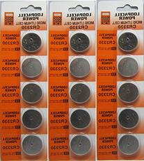 15 Genuine Loopacell CR2330 3v Lithium 2330 Coin Batteries