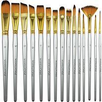 MyArtscape 15 Synthetic Short Handle Paint Brushes