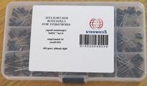 15 Value 270 pcs Electrolytic Capacitors Assortment Box Easy