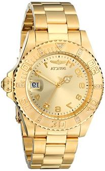 Invicta Women's 15249 Pro Diver 18k Yellow Gold Ion-Plated