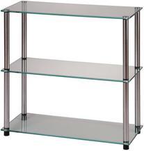 Convenience Concepts Designs2Go Go-Accsense 3-Shelf Glass