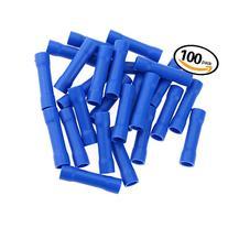 Hilitchi 100pcs 16-14 Gauge Butt Insulated Splice Terminals