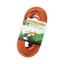 Prime Wire 50-Foot 16/3 SJTW Medium Duty Extension Cord,