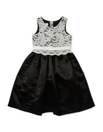 Us Angels Girls 7-16 Lace Bodice Party Dress