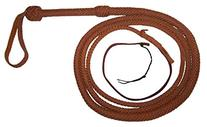 10 Foot 16 Plait Bullwhip Tan Real Leather BULLWHIP BULL