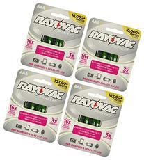 16 x Rayovac Platinum pre-charged  800 mAh Rechargable AAA