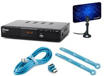 Viewtv AT-163 ATSC Digital TV Converter Box Bundle with