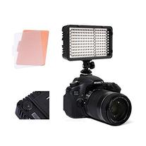Selens 168 LED Dimmable Ultra High Power Panel Digital Camera/Camcorder Video Light, LED Light for Canon, Nikon, Pentax, Panasonic,Sony, Samsung and