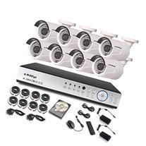 KAREye 1080N 16CH Video Security System 8 Bullet IP66