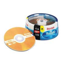Maxell 16X Write-once DVD-R Spindle - 15 Pack