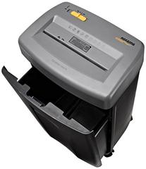 AmazonBasics 17-Sheet Cross-Cut Paper, CD, and Credit Card Shredder with Pullout Basket