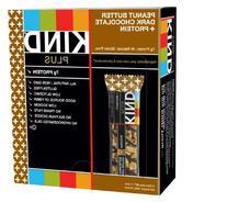 Kind Llc 17256 Plus Nutrition Boost Bar Peanut Butter/Dark Chocolate 1.4 oz 12/Box