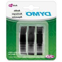 Dymo 1741670 Glossy Embossing Tape - 0.38 Width x 117.60
