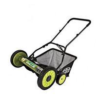 Snow Joe Mow Joe 18-IN Manual Reel Mower with Grass Catcher