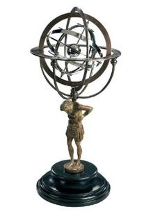 Authentic Models 18th Century Atlas Armillary 10-Inch
