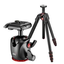 Manfrotto 190Go! Aluminum 4-Section Black Tripod with Twist
