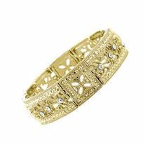1928 Jewelry Vintage Lace Golden Majesty Bracelet NEW