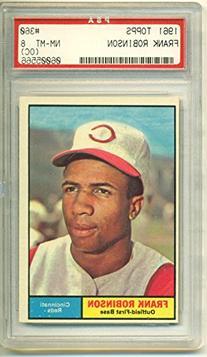 1961 Topps Frank Robinson #360 PSA 8 OC NM-MT HOF Cincinnati