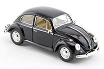 1967 Volkswagen Beetle 1/24 Black